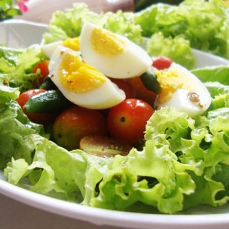 thực đơn giảm cân 7 ngày với trứng